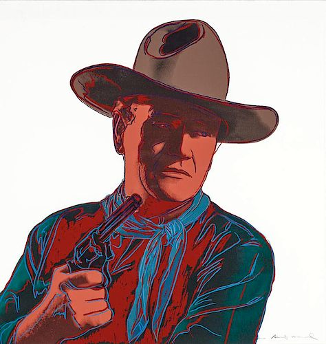 Andy Warhol | Cowboys and Indians: John Wayne 150/250