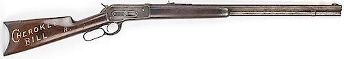 Winchester | Winchester Model 1886 Lever Action Rifle, belonged to outlaw Cherokee Bill. SN 15416. Cal. 38-56