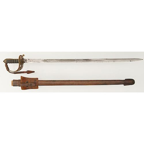 Royal Military College Anson Memorial Prize Sword to H. Simpson by Wilkinson #29952