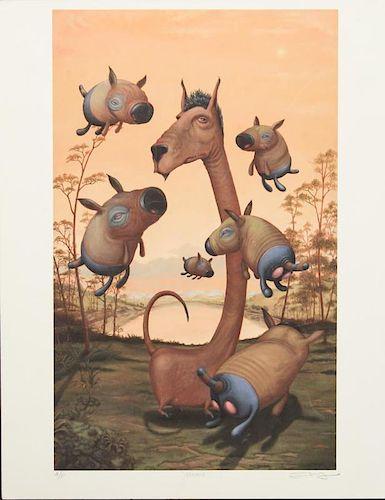 Scott Musgrove (American, b. 1966)- Artist's Proof