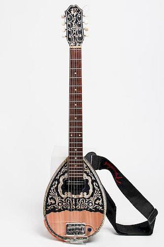Greek Trichordo Bouzouki Instrument, Amplified