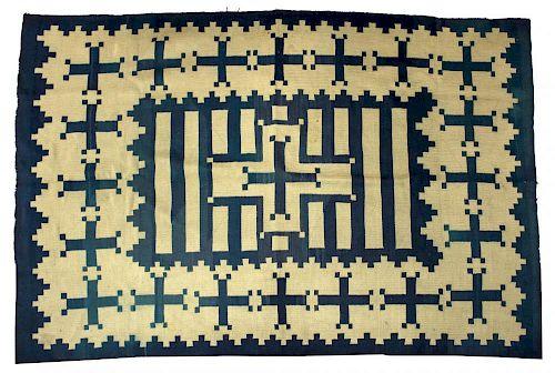 Antique Navajo Native American Weaving