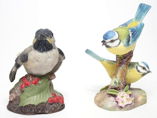 Boehm & Royal Worcester Porcelain Bird Figurines