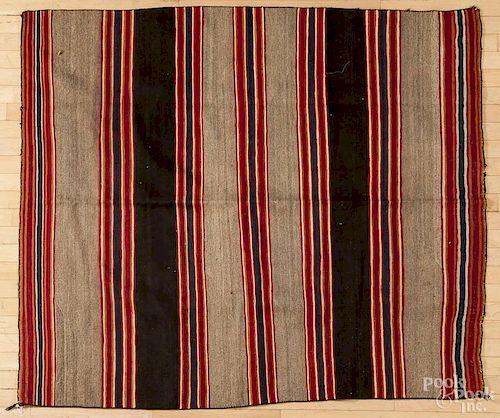 Navajo Native American Indian rug, 20th c., 66'' x 57''.