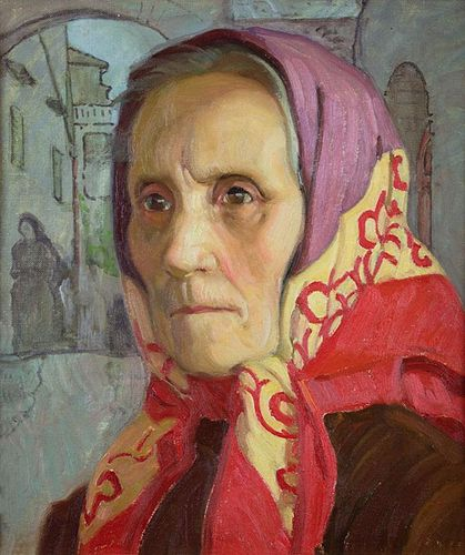 Italian Woman - Chioggia by Ernest Martin Hennings