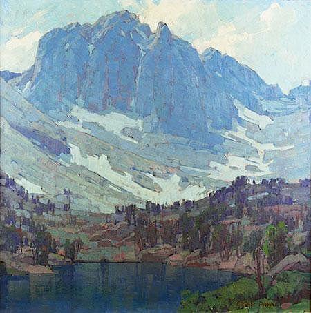 Blue Shadows by Edgar Payne