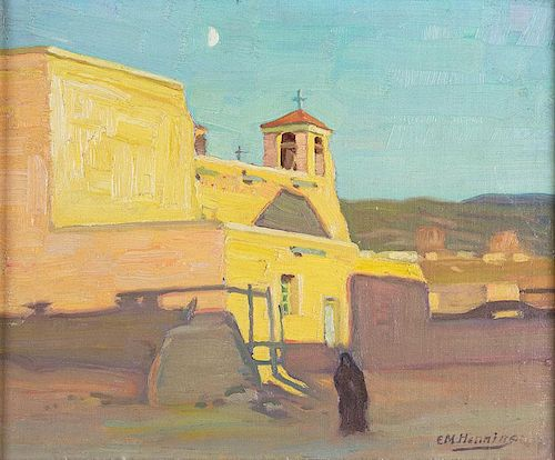 San Francisco de Asis Mission Church by Ernest Martin Hennings