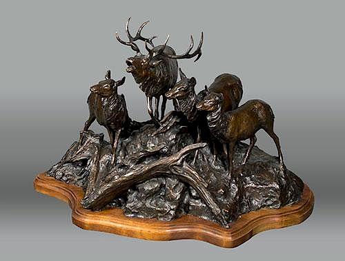 Elk Mountain Burn by Veryl Goodnight