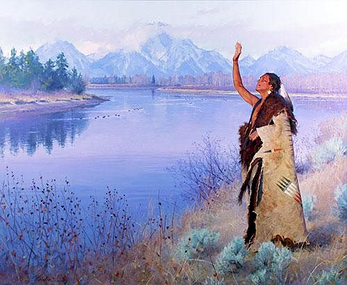 Mountain Blessing Song by R. S. Riddick