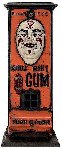 Standard Gum Machine Works. 1 Cent Blinkey Eye Gum Vendor.