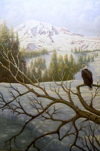Gregory Perillo, Eagles View - Mt. Ranier