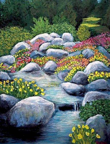 Paul Crimi, Psalm 23 Beside Restful Waters