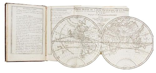 DE FER, Nicholas. Introduction a La Geographie avec une description historique sur touttes les parties de la terre. Paris, 17