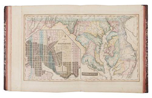 Lucas Fielding Jr 1781 1854 A General Atlas Containing Distinct