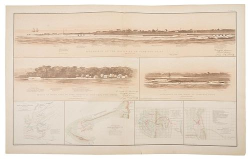 COWLES, Calvin D., compiler. Atlas to Accompany the Official Records of the Union and Confederate Armies. Washington, 1891-18