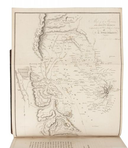 BURCKHART, John Lewis (1784-1817). Travels in Syria and the Holy Land. London, 1822.