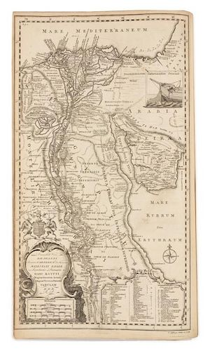 POCOCKE, Richard. Description of the East and Some Other Countries. London, 1743-1745. 2 volumes.
