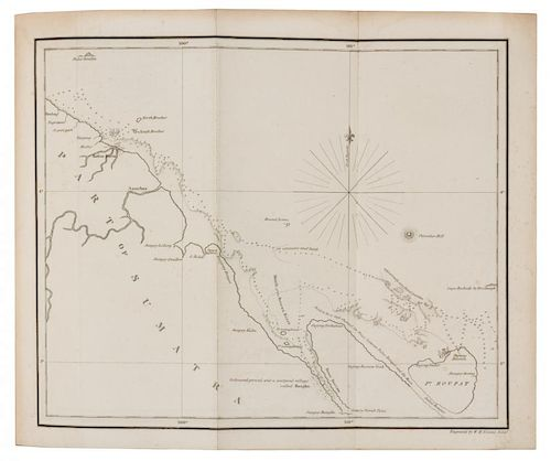 [PACIFIC] A Group of works about the Pacific. Together, 3 works in 5 volumes.
