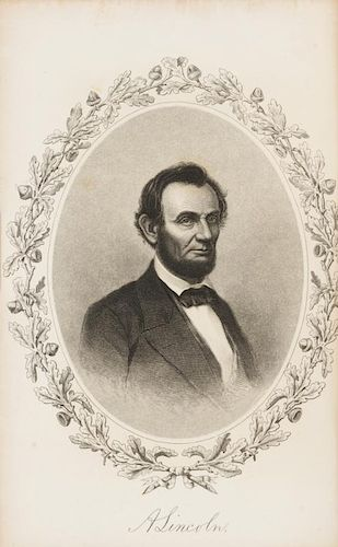 [LINCOLN] A group of works about Lincoln. Together, 5 works in 5 volumes.