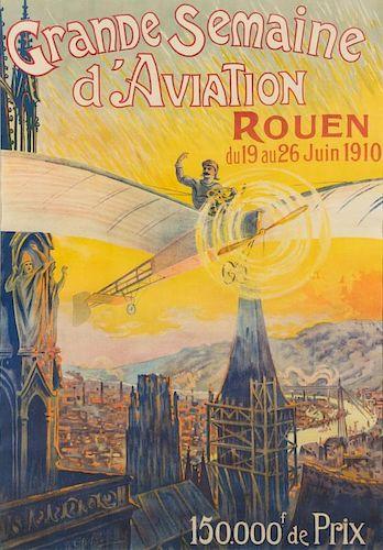 RAMBERT, Charles. Grande Semaine d'Aviation. Rouen, 1910.