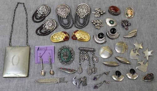 JEWELRY. Miscellaneous Sterling Silver Jewelry.