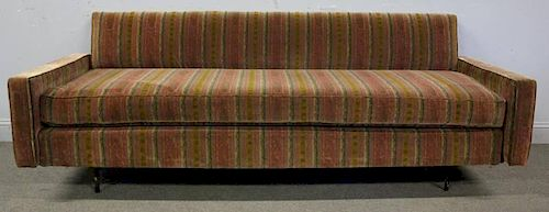 Midcentury Daybed with Iron Base.