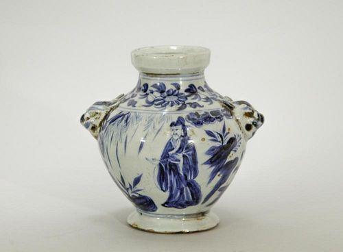 Chinese Blue/White Ming Style Jar