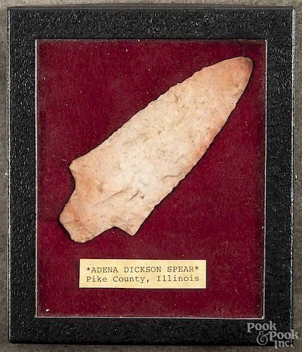 Adena Dickson Spear, Pike County, Illinois, 4 1/2'' l.