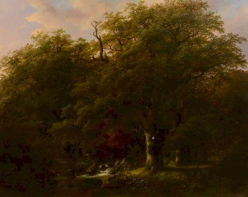 Johann Klombeek Oil on Canvas