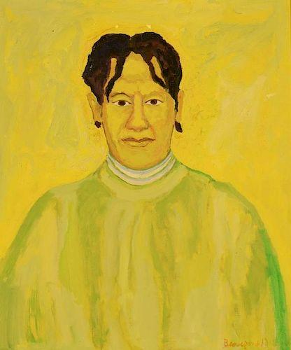 Beauford Delaney portrait of Delia Delaney
