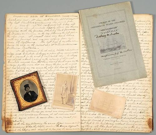 Confederate CSS Shenandoah Diary and Archive