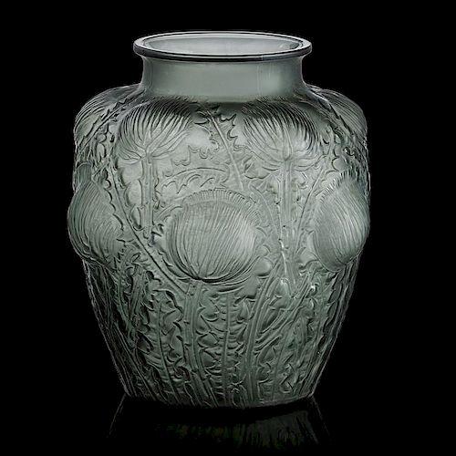 "LALIQUE ""Domremy"" vase"
