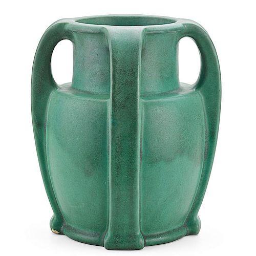TECO Large four-handled vase