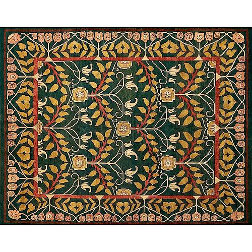 STYLE OF WILLIAM MORRIS Contemporary rug