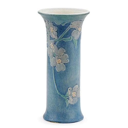 SADIE IRVINE; NEWCOMB COLLEGE Tall flaring vase