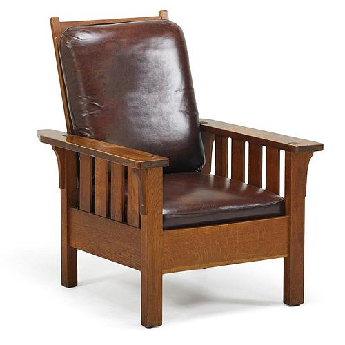 CHARLES STICKLEY Morris chair