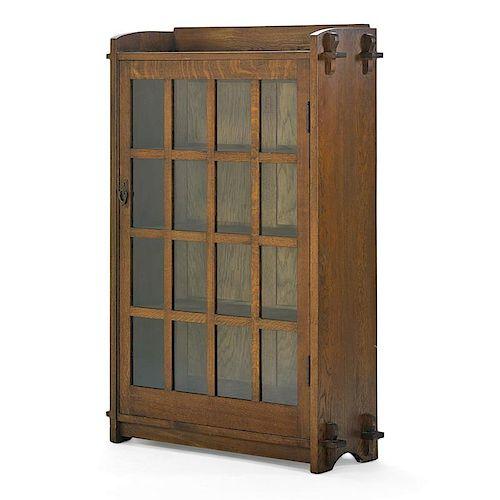 GUSTAV STICKLEY Single-door bookcase