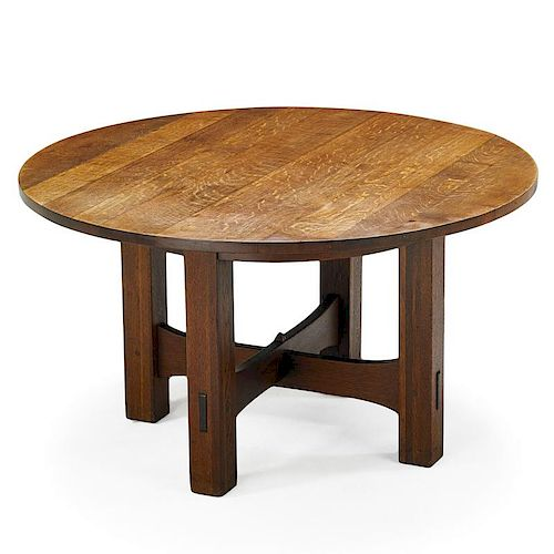GUSTAV STICKLEY Game table