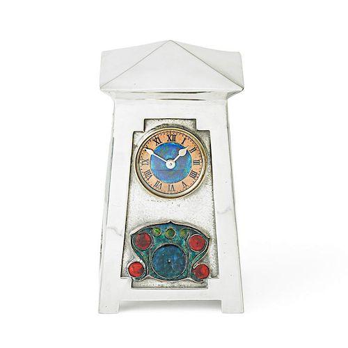 ARCHIBALD KNOX; LIBERTY & CO. Tudric clock