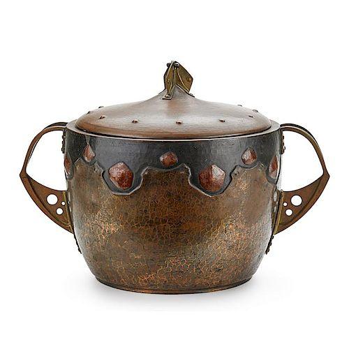 WMF (Attr.) Copper lidded vessel