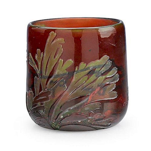 GALLE Vase with underwater scene