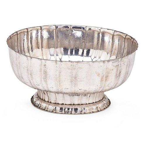 JOSEF HOFFMANN Fine silver bowl