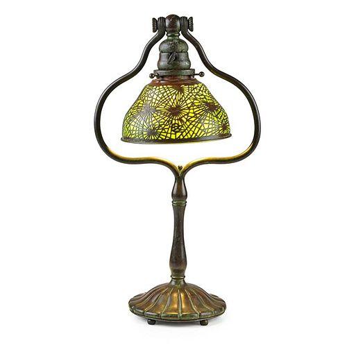 TIFFANY STUDIOS Pine Needle desk lamp