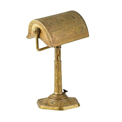 TIFFANY STUDIOS Zodiac desk lamp