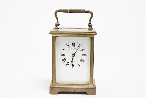 French Carriage Clock, Antique, by Bigelow Kennard