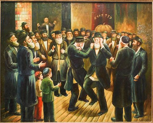 Raymond Neilson (American, 1881-1964)- Oil/ Panel