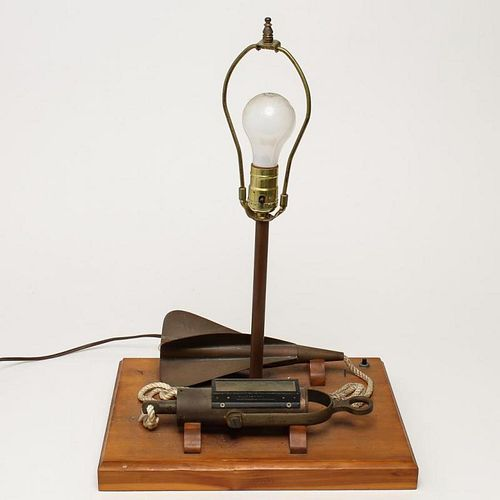 Desk Lamp with Nautical-Theme