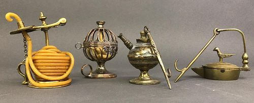 English Brass Taper Jack