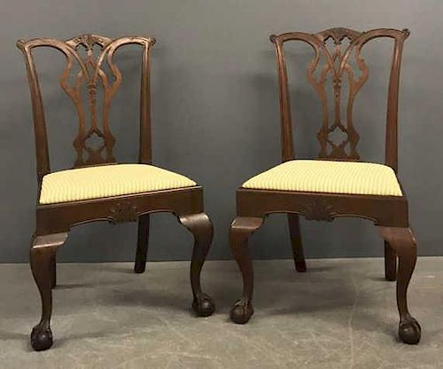 Saybolt - Cleland Philadelphia Chippendale Chairs