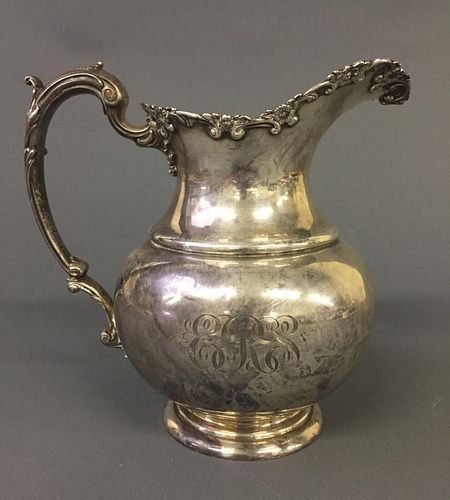 Sterling Silver Water Pitcher by Durgin
